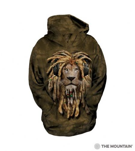 Kids Hoodies - DJ Jahman Lion - The Mountain®